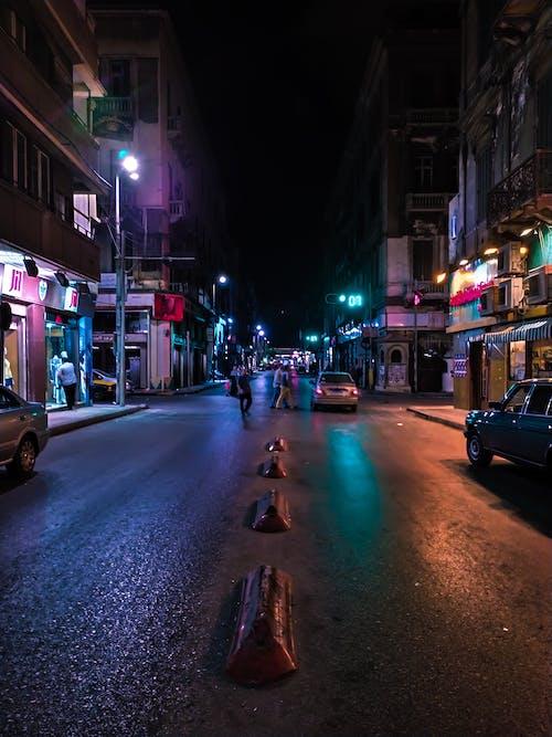 Δωρεάν στοκ φωτογραφιών με πόλη τη νύχτα