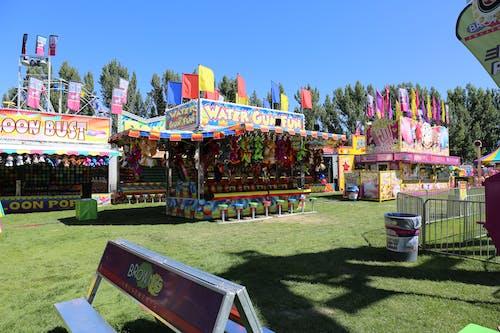 Photos gratuites de foire du comté, jeux, parc d'attractions