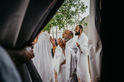 Men in White Robes