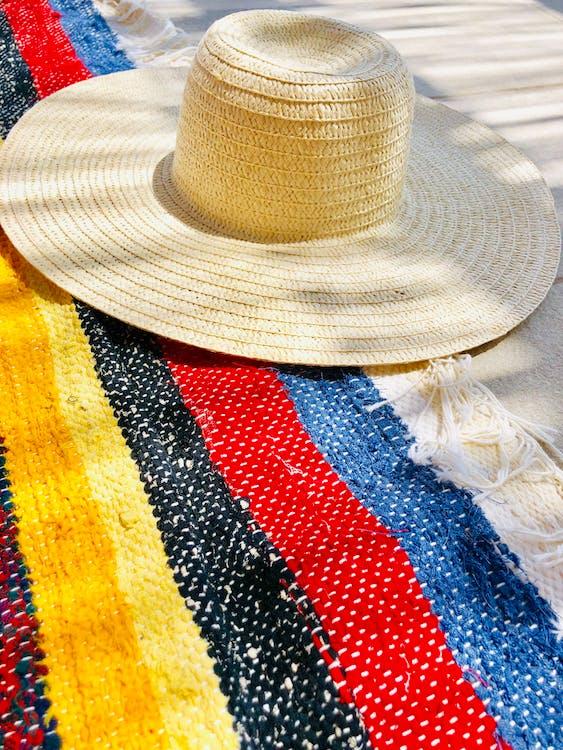acessórios para a cabeça, chapéu de palha, chapéu de praia
