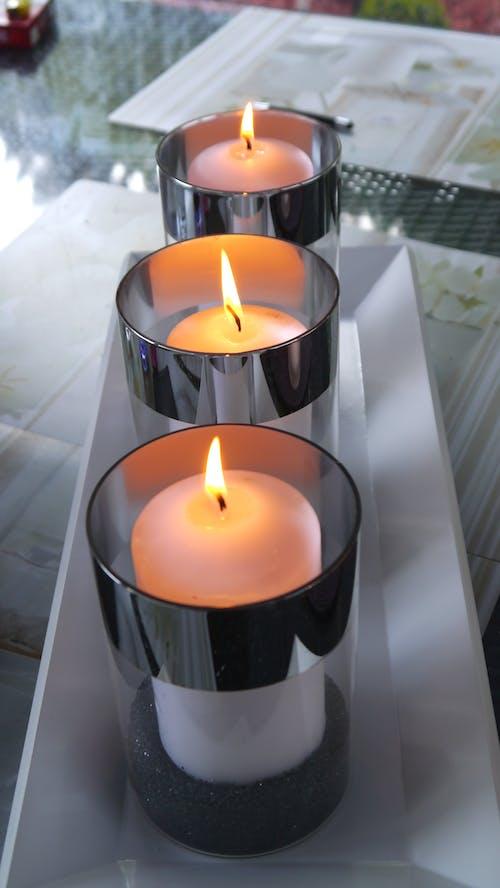 Kostenloses Stock Foto zu aromatherapie, beleuchtet, brand, brennen