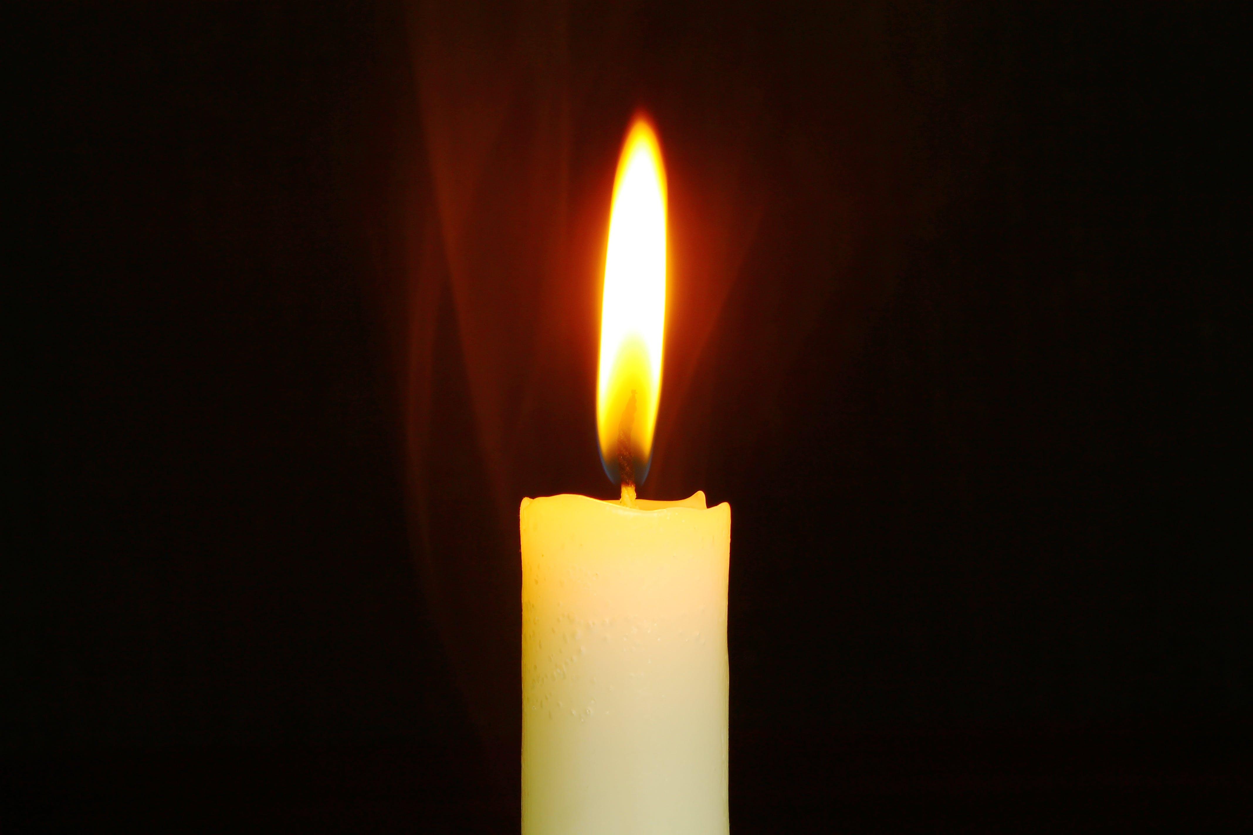 beleuchtet, brennen, dunkel