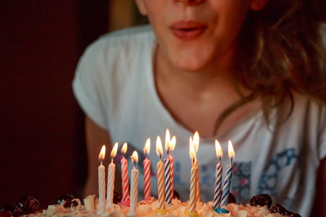 Gratis lagerfoto af flamme, flere år, fødselsdag