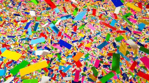 คลังภาพถ่ายฟรี ของ กระดาษสีโปรย, ขยะ, ขยะมูลฝอย, ตก