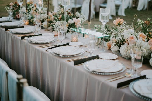 Photo Of Table Setting During Daytime