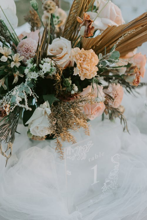 Photo Of Bouquet Of Flowers