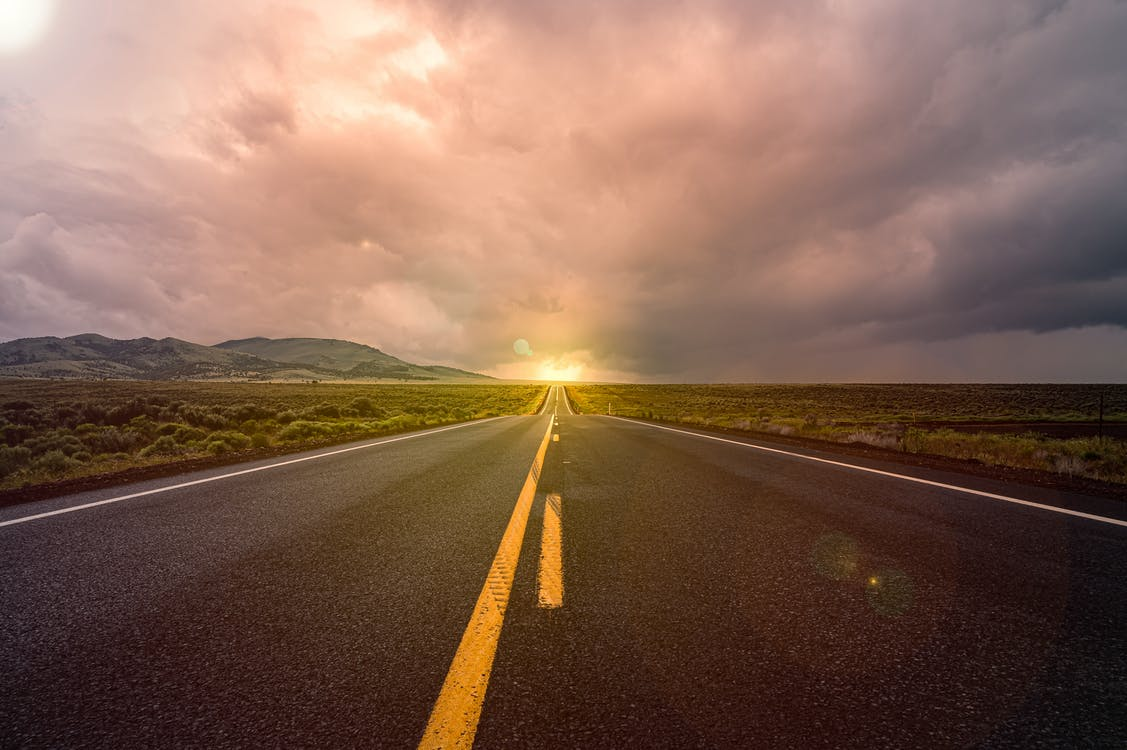 Photography of Long Road