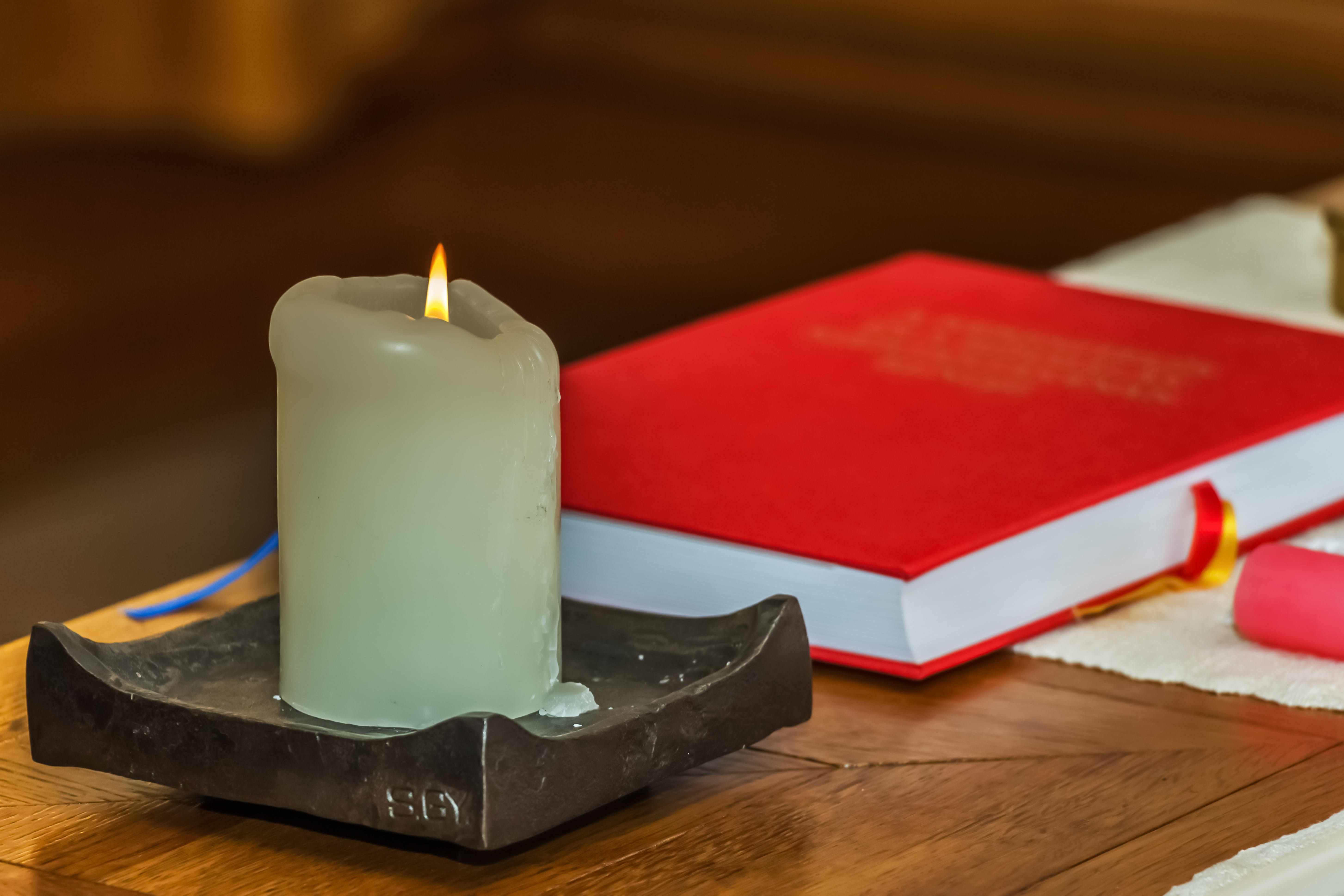 Free stock photo of light, fire, book, candle