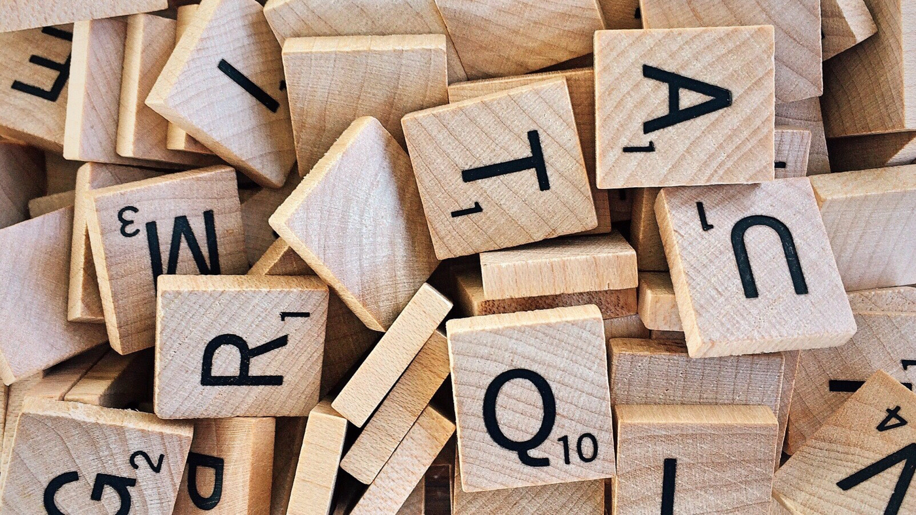 Free stock photo of wood, wooden, scrabble, letters