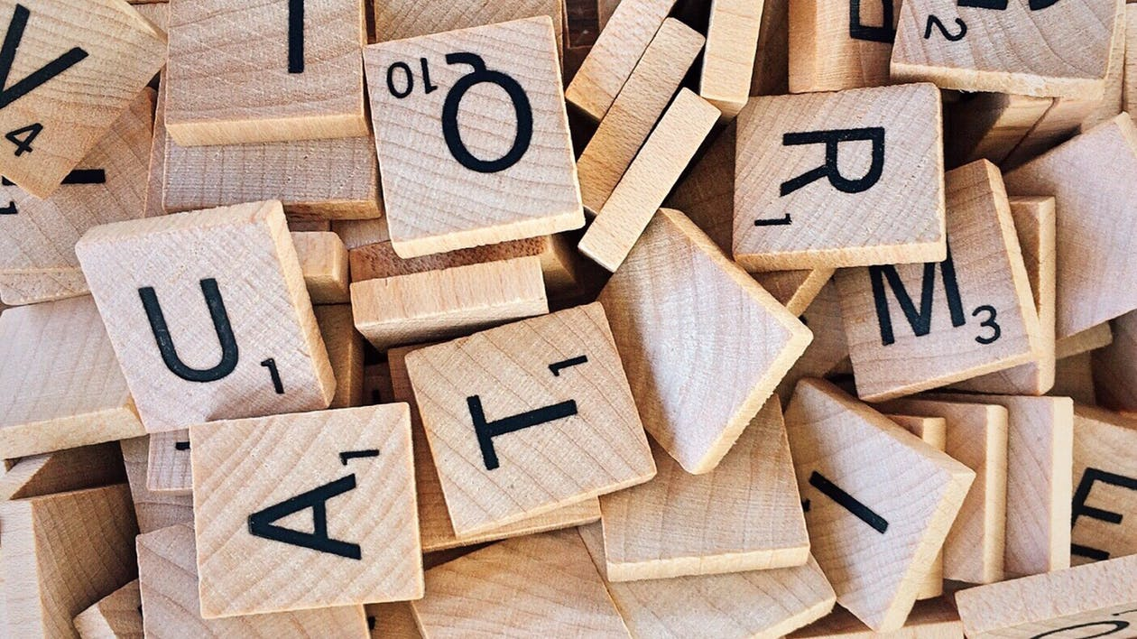 abeceda, detailný záber, dlaždica