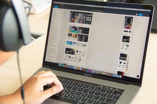 Бесплатное стоковое фото с figma, macbook, macbook pro, ux