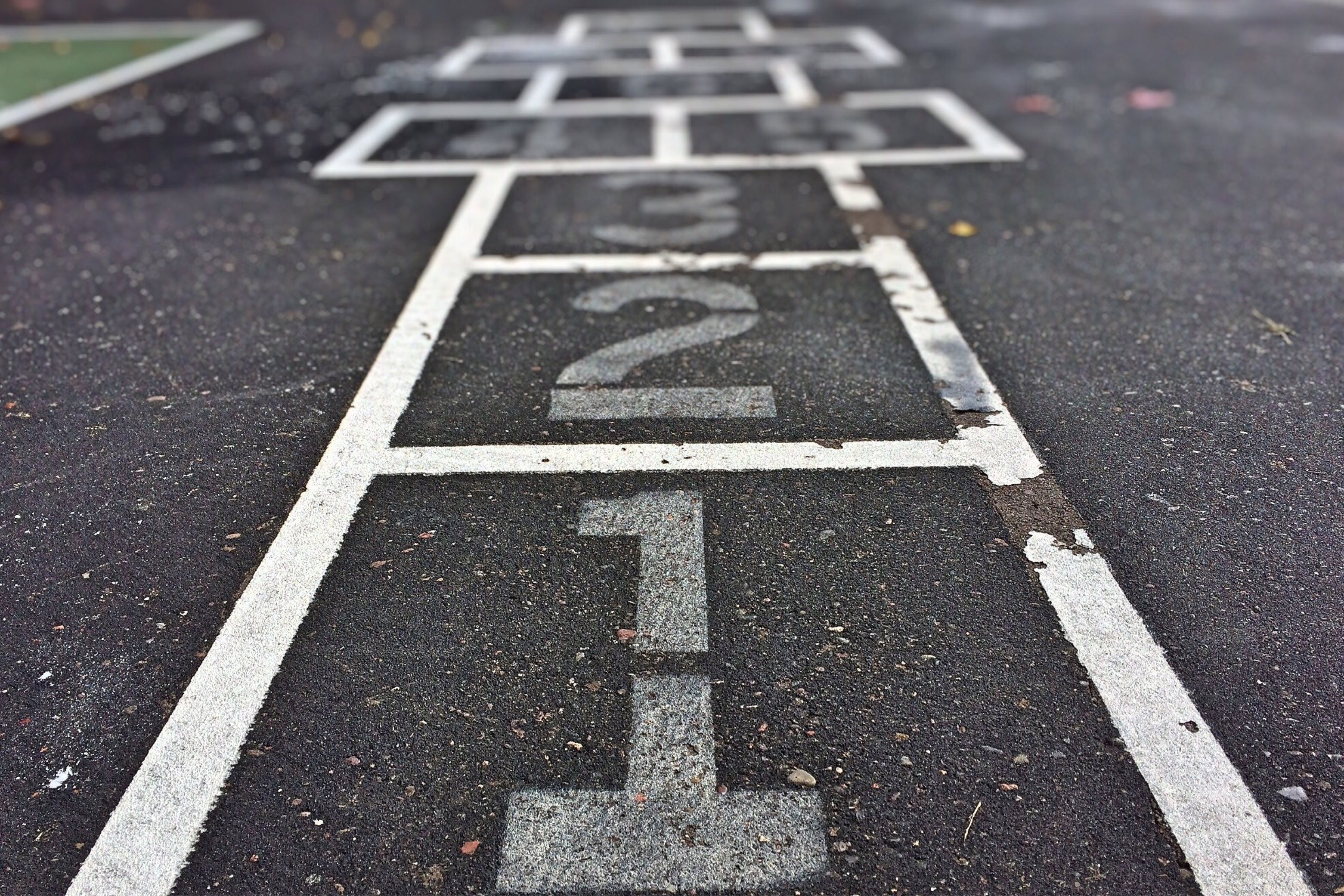 Free stock photo of numbers, game, pavement, asphalt