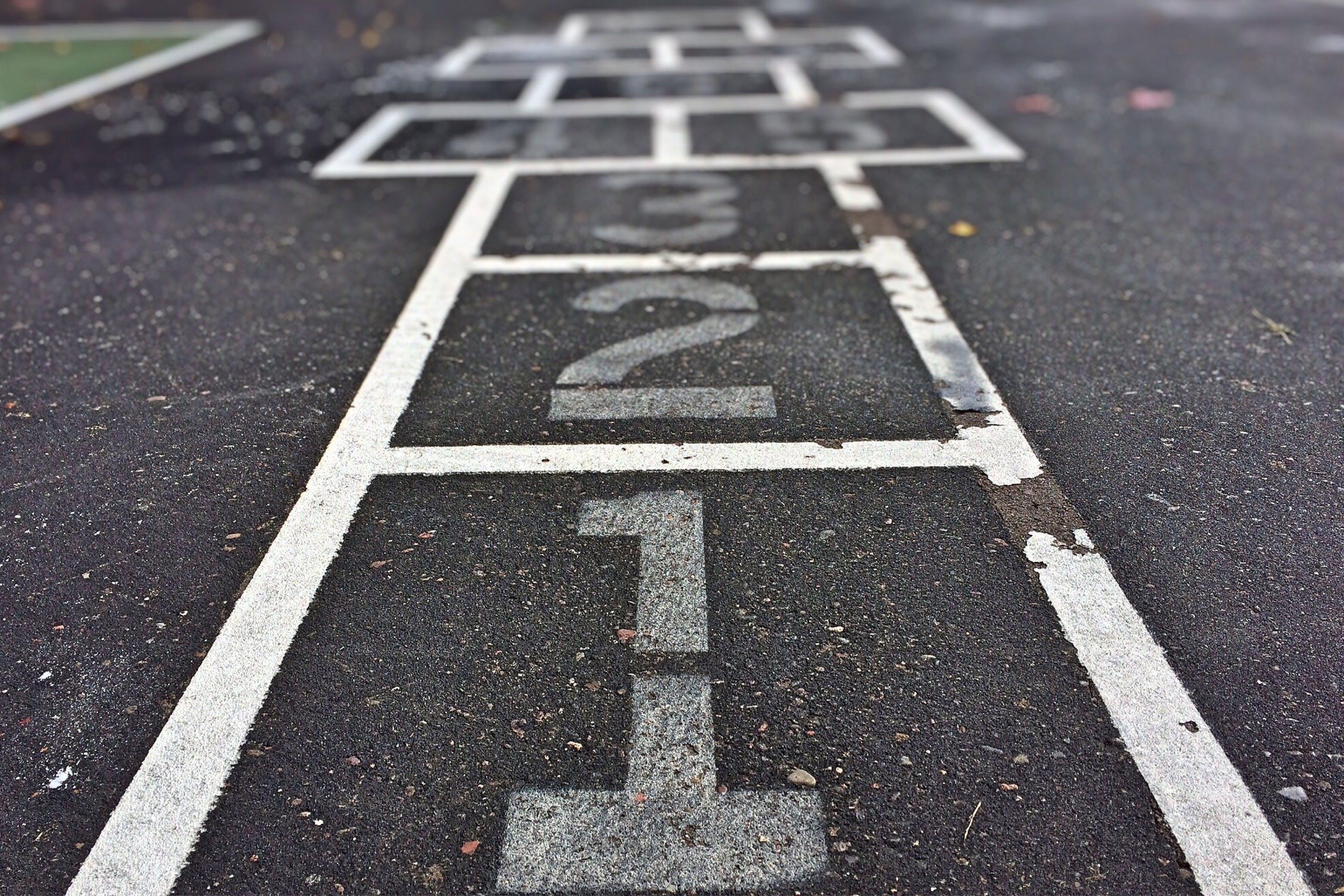 asphalt, game, hopscotch