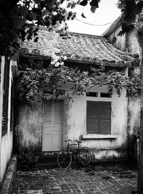 Бесплатное стоковое фото с архитектура, велосипед, дом, жилой