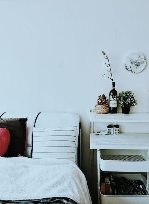 インテリア, インテリア・デザイン, インドア, ベッドの無料の写真素材