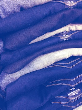 Free stock photo of fashion, blue, pattern, jeans