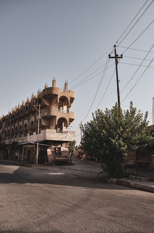Free stock photo of abandoned building, الشارع القديم
