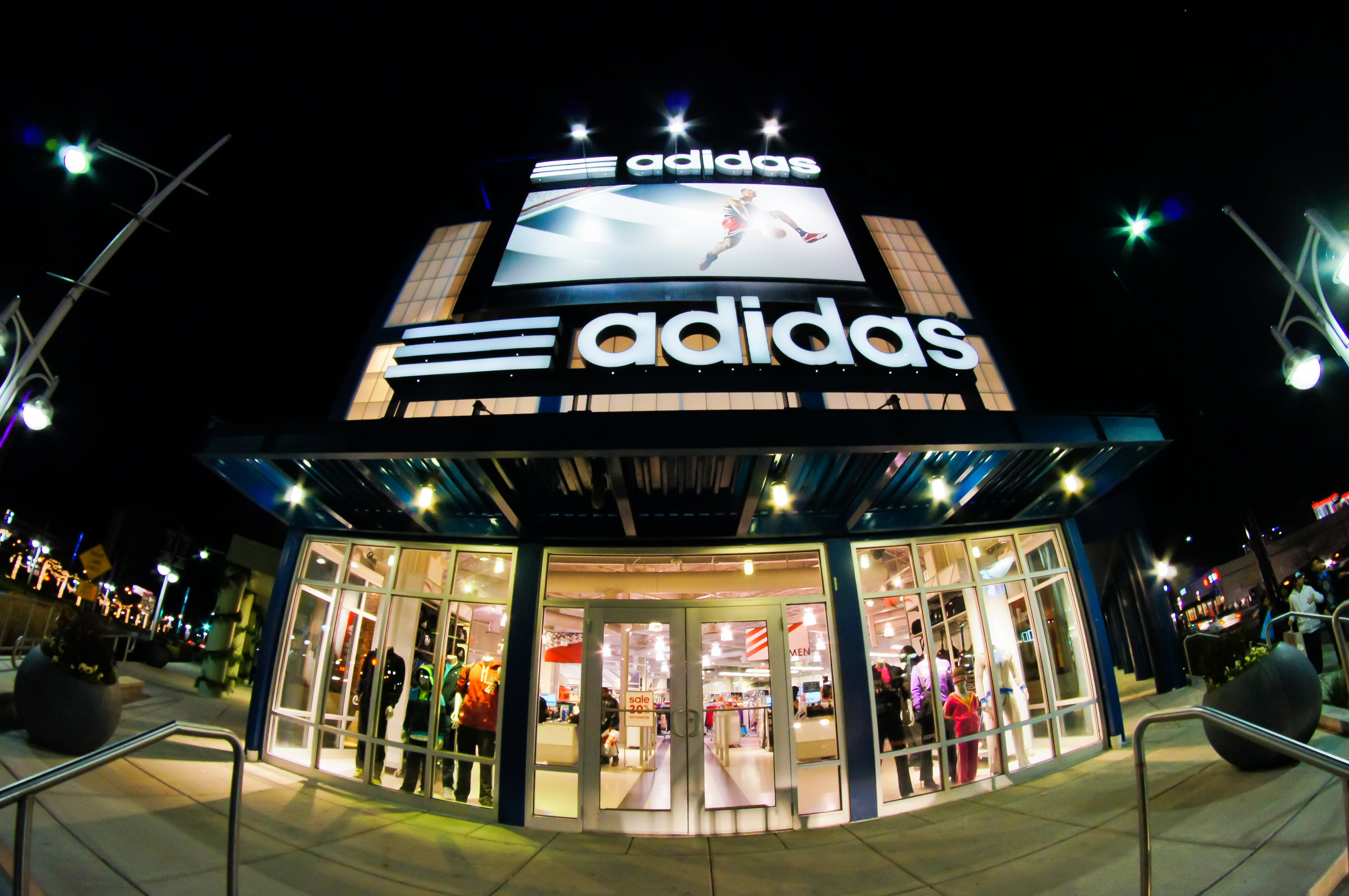 adidas, atlantic city, fisheye