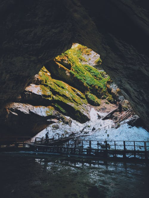 경치가 좋은, 동굴, 락, 야외에서의 무료 스톡 사진