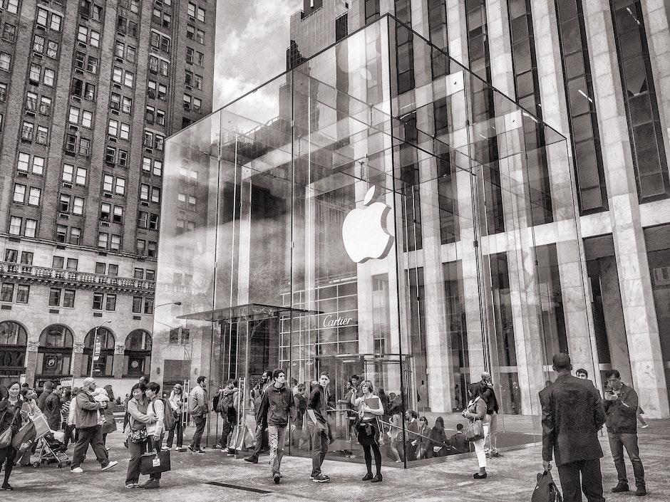 5th avenue, america, apple store