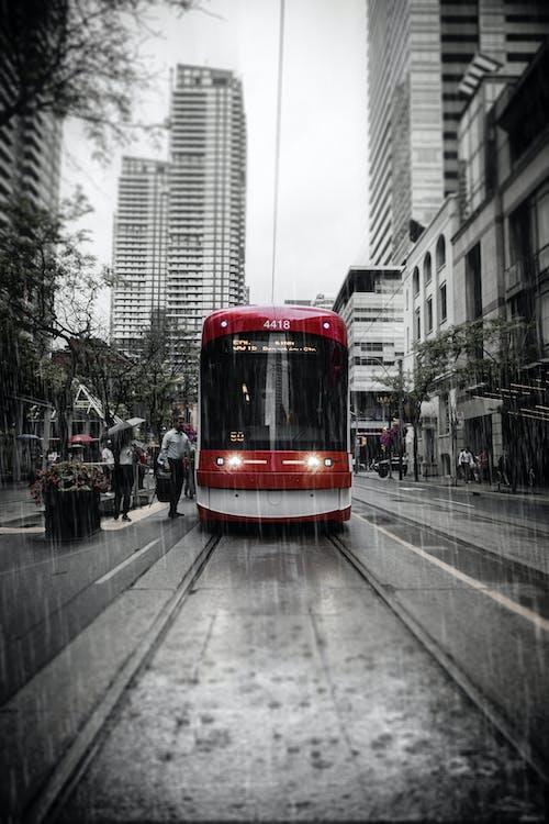 Ilmainen kuvapankkikuva tunnisteilla downtown toronto, julkinen liikenne, kaupungin keskusta, kaupunki