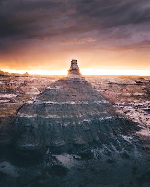 Immagine gratuita di alba, crepuscolo, montagna, montagna rocciosa