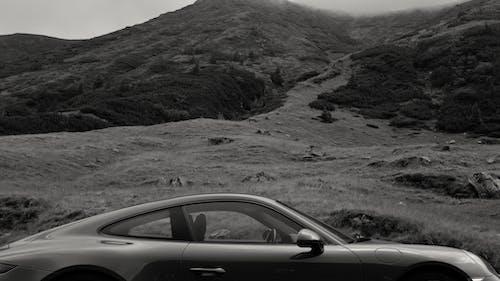 Photos gratuites de brouillard, Ciel sombre, ligne, montagne