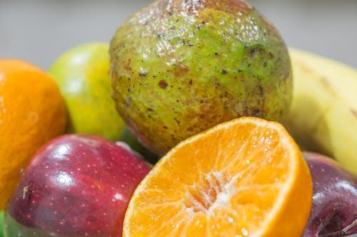 apple, muz, Portakal içeren Ücretsiz stok fotoğraf