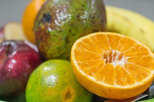 Portakal, taze meyve içeren Ücretsiz stok fotoğraf