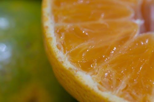 makro fotoğraf, meyve, Portakal içeren Ücretsiz stok fotoğraf