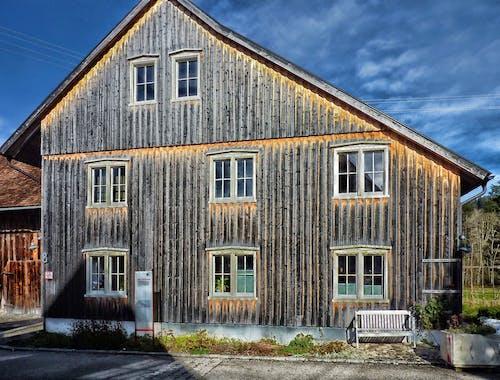 Ingyenes stockfotó építészet, épület, fa, fából készült témában
