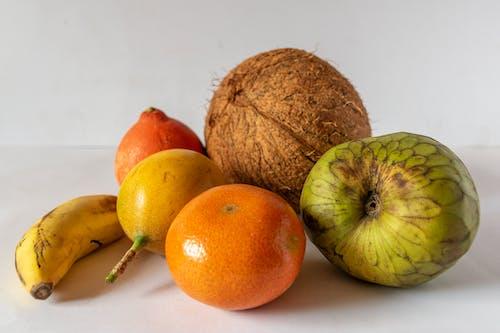 柑橘, 椰子, 熱帶水果 的 免费素材照片