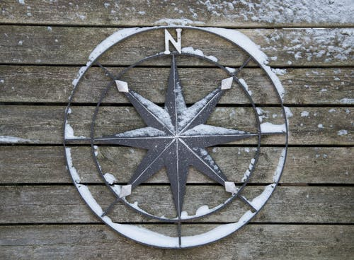 Free stock photo of aged, cold, compass, cottage
