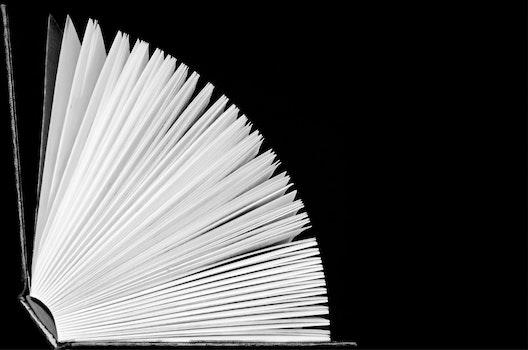 Free stock photo of books, writing, school, black