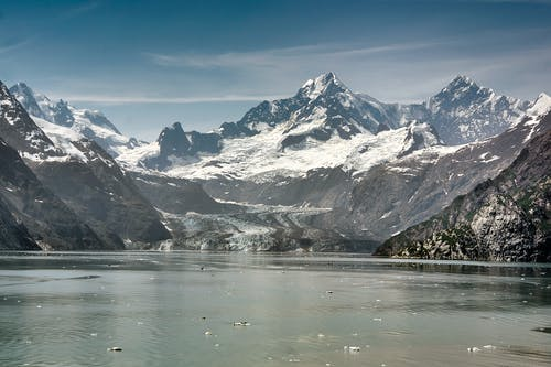 Fotobanka sbezplatnými fotkami na tému hory, krásna krajina, ľadovec, ľadovec margerie