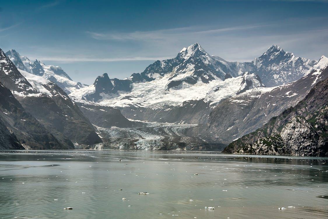 gletser, gletser margerie, pegunungan