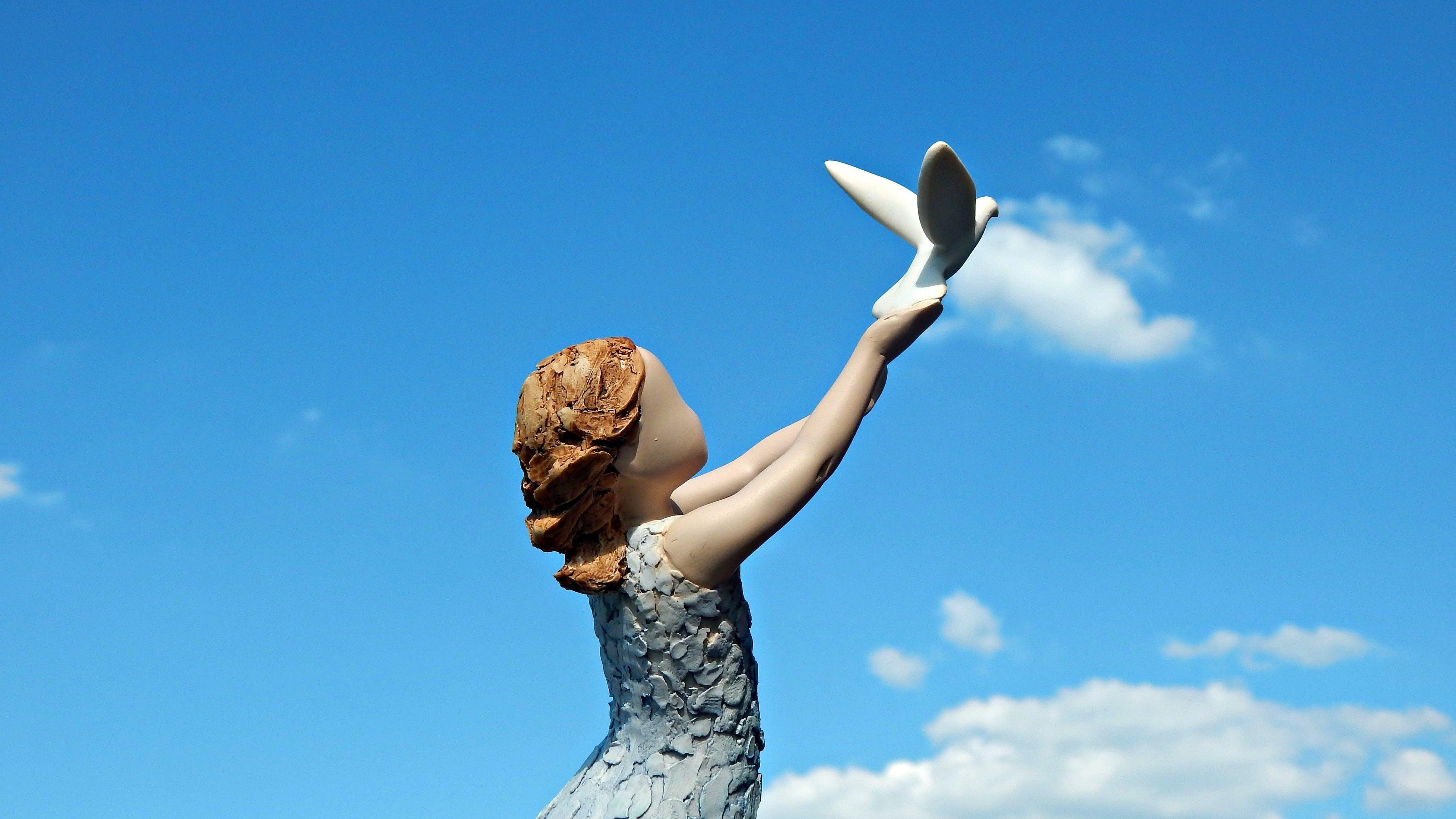 Free stock photo of statuette, figurine, arora, follow your dream