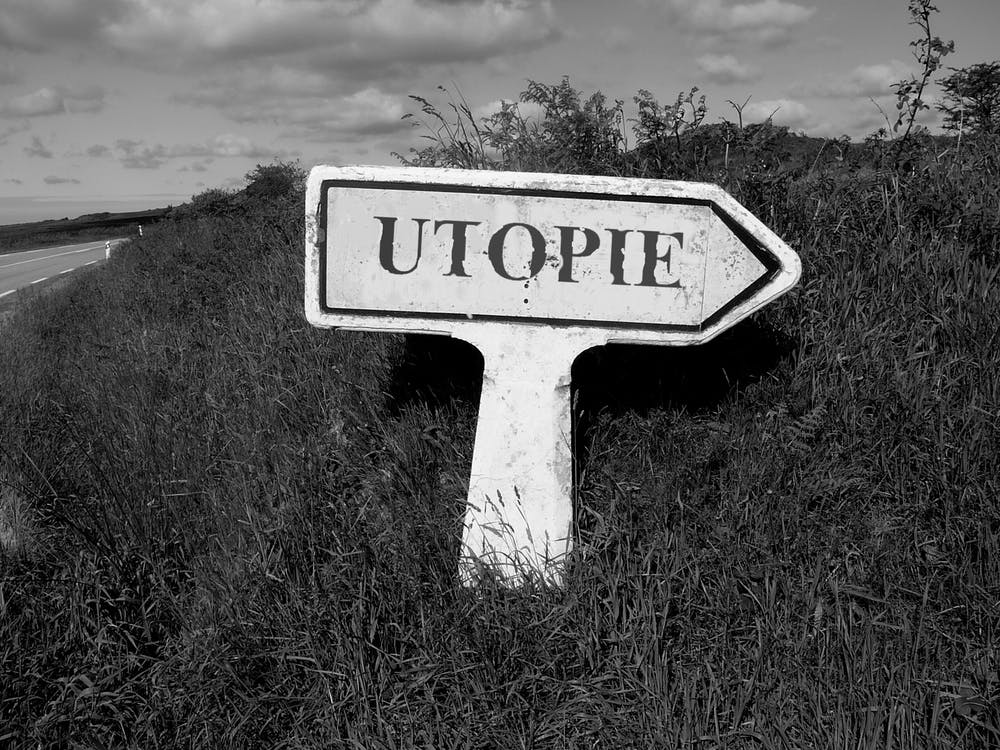 sign, the earth, utopia