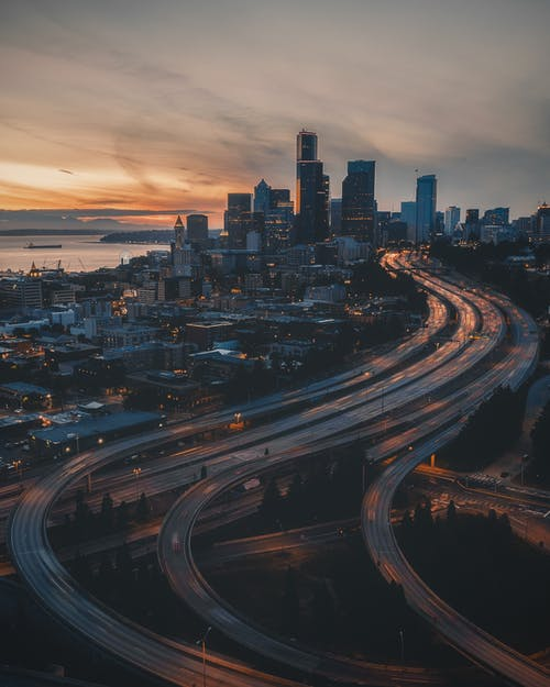 City Buildings And Roads