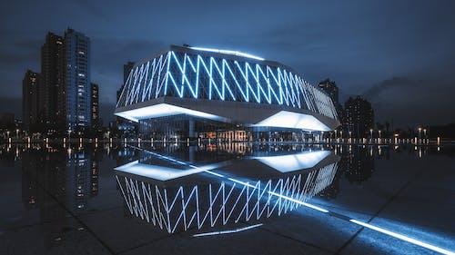 Foto stok gratis Arsitektur, cahaya, desain arsitektur, di luar rumah