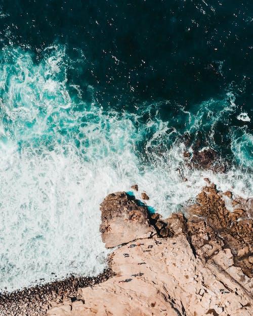 Immagine gratuita di costa, da sopra, mare, oceano