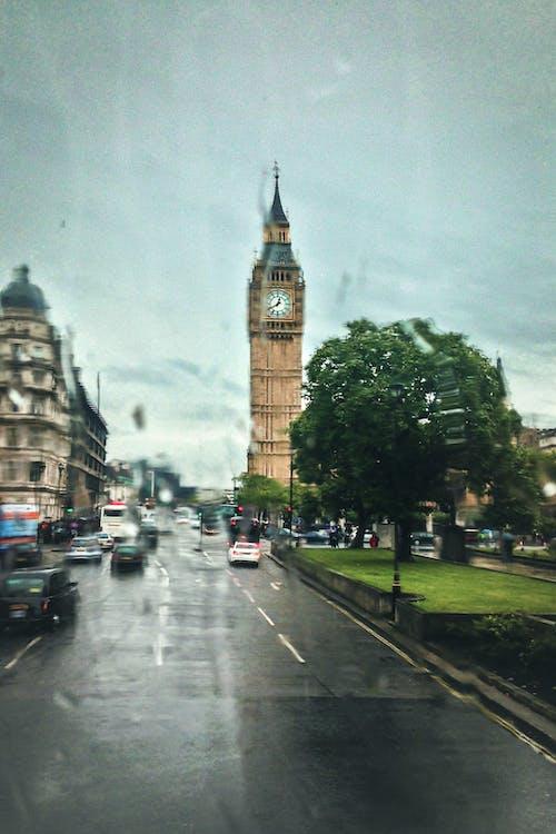 下雨天, 交通, 人