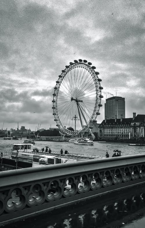 Ferri's Wheel Beside River