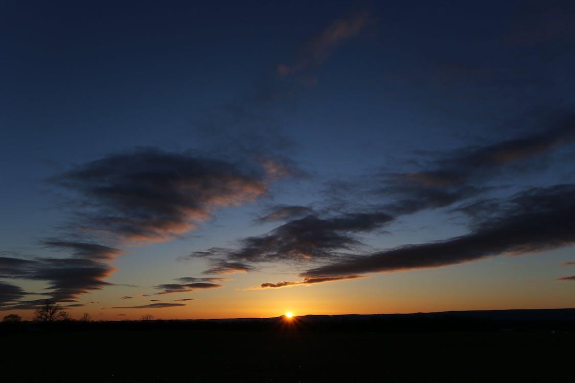 Silhouette Photo of Landscape