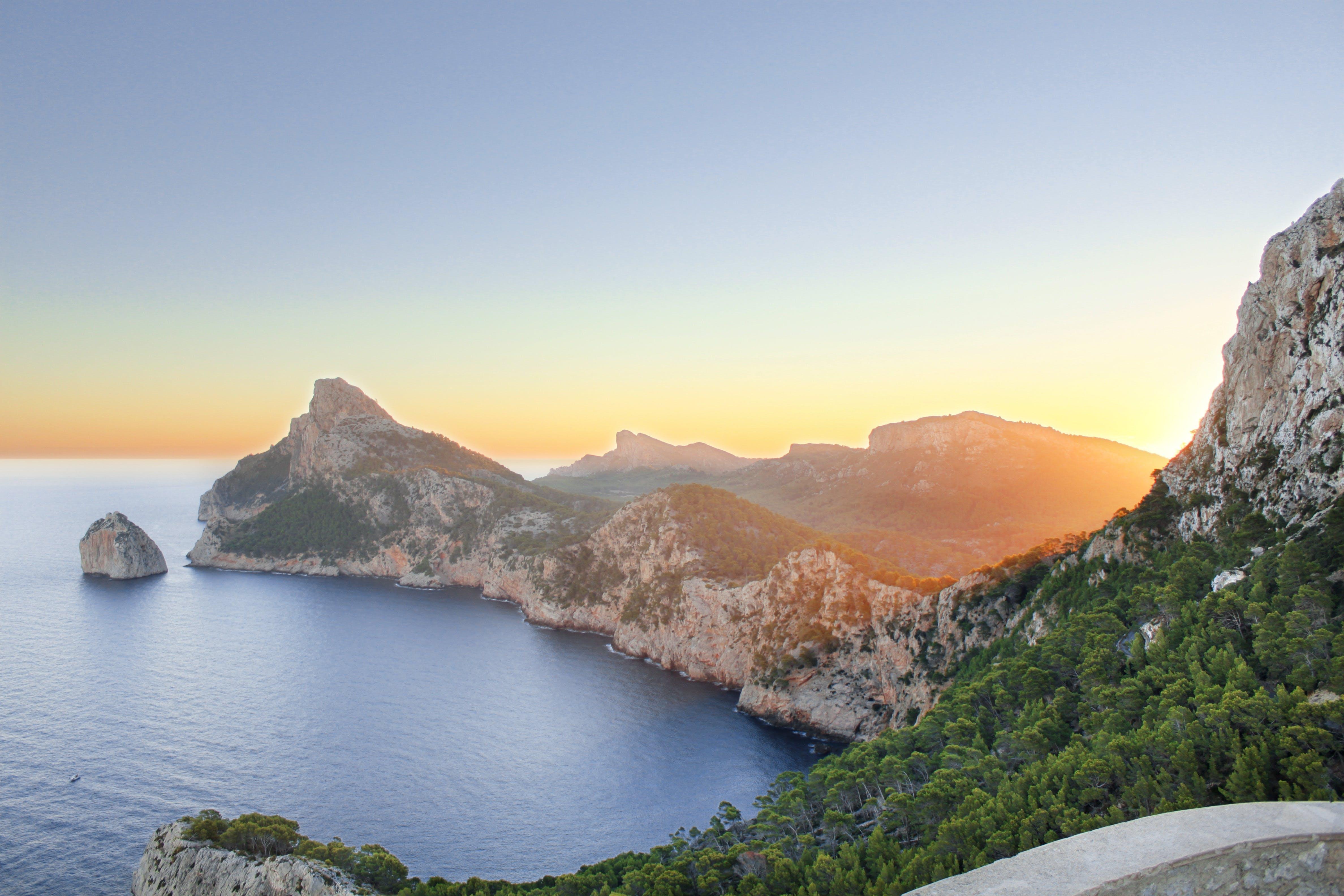 Free stock photo of balearic islands dreams, cap de formentor, de, golden light