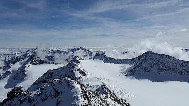 Free stock photo of cold, glacier, snow, landscape