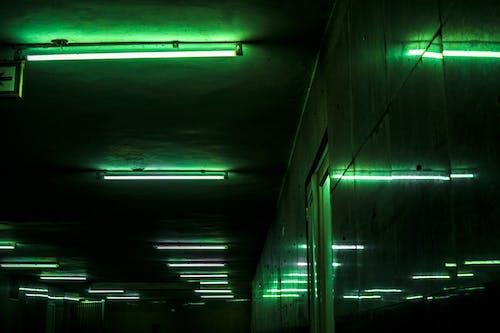 Free stock photo of abandoned, abandoned building, basement, city lights