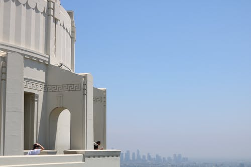 Free stock photo of architecture, blue sky, griffith observatory