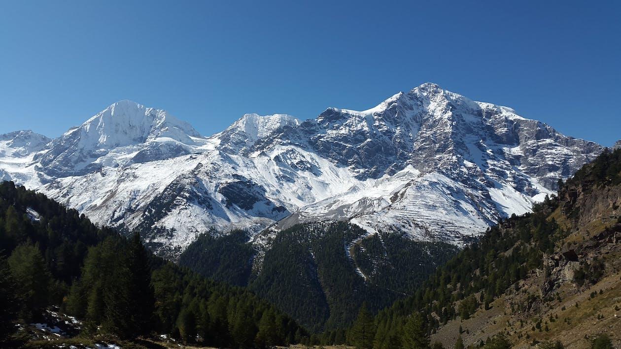 alpský, denní světlo, dobrodružství