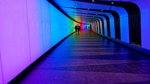 Gratis stockfoto met blauw, doorgang, koppel, lopen
